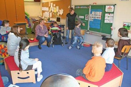 Morgenkreis im Klassenraum