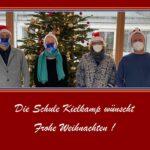 Die Schule Kielkamp wünscht Frohe Weihnachten